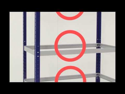 Assembly Instructions: Click Together 265 Shelving