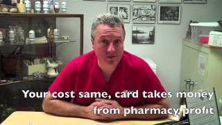 Repeat youtube video The truth about prescription discount cards