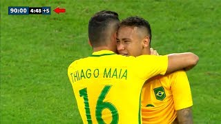 Most Dramatic Last Minute Goals İn Football | Neymar, Götze