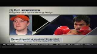 RJ Bell On SportsCenter Talks Mayweather vs Pacquiao Betting