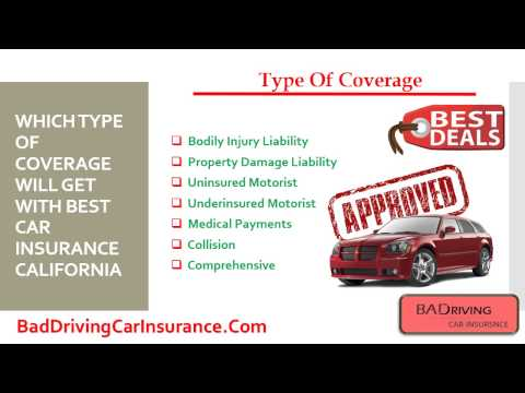 California Car Insurance Companies - Get Free Auto Quotes With Low Rates