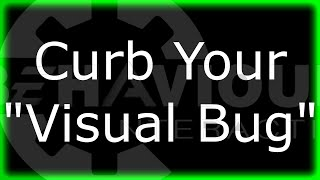 Curb Your Visual Bug BHVR | Dead By Daylight