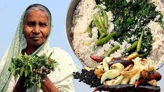 Grandma's Special Traditional Broken Rice Recipe | Cooking Village Tasty Food