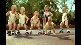 mv เพลง  roller babies gangnam style