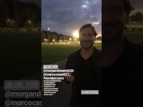 VIDEO - Totti stuzzica Figo: