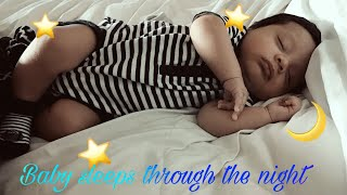 NEWBORN NIGHT ROUTINE! HOW TO GET BABY SLEEPING THROUGH THE NIGHT! TEEN MOM