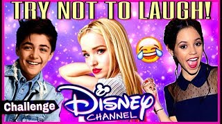 Try Not To Laugh Or Grin Challenge Disney Stars Edition 🤣 Funniest Disney Channel Stars Musicallys