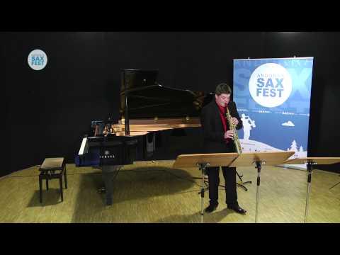 Eric Benito Fuster - Fase Eliminatòria - ANDORRA SAX FEST'14