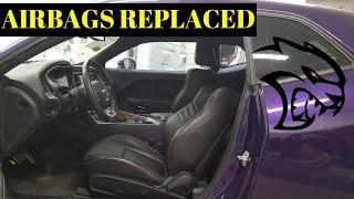 Rebuilding a Wrecked Dodge 2016 Hellcat Still a Better Deal Than Copart Part 7