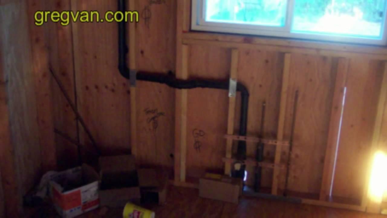 Drilling Through King Stud Framing For Plumbing Waste