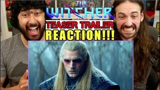 THE WITCHER | Comic-Con | Teaser TRAILER  - REACTION!!!