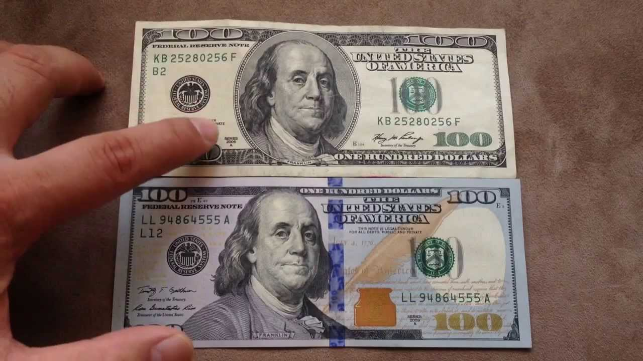 Comparing the new $100 US dollar (Oct 2013) with the old ... 100 Dollar Bill 2013