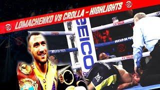 Vasyl Lomachenko vs Anthony Crolla  Highlights - Lomachenko vs Crolla KO