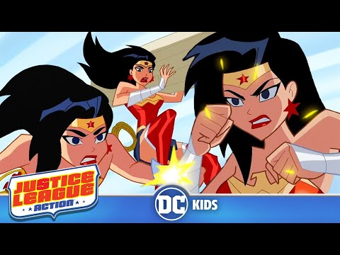 Justice League Action | Wonder Woman In Action | DC Kids