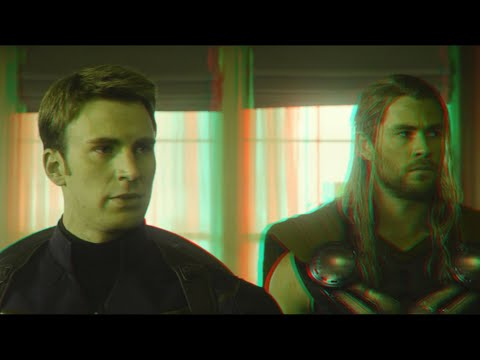 Avengers : Age of Ultron - Clip (2015)(3D)(Side By Side) Safe House