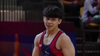 Carlos Yulo Highlights Doha World Championships 2018