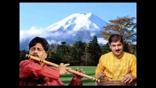 Sandip Chatterjee - The Mountain Waves:Santosh Sant (Flute) & Sandip Chatterjee(Santoor)