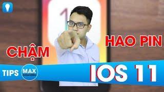 9 cách khắc phục lỗi HAO PIN và CHẬM trên iOS 11