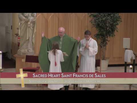 9/4/16 - Sacred Heart Saint Francis de Sales