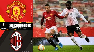 Manchester United vs. AC Milan: Extended Highlights | UCL on CBS Sports