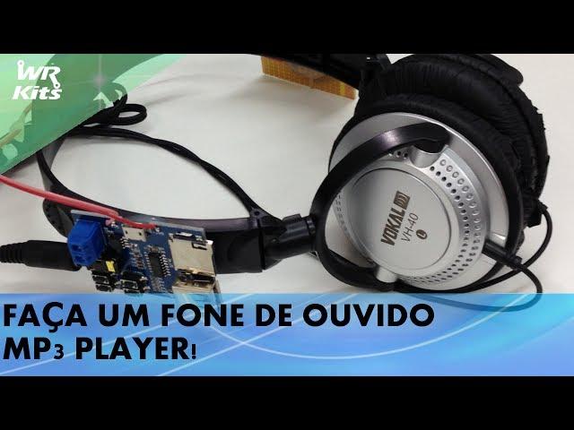 FAÇA UM FONE DE OUVIDO MP3 PLAYER!