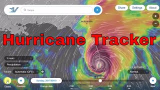 Hurricane Tracker - Track Tropical Storms
