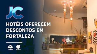 Hotéis oferecem descontos para tornar Fortaleza mais atrativa ao turista