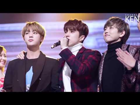 Kenjin    BTS Jin and VIXX Ken Friendship Moments