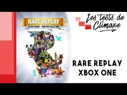 Test de la compilation de jeux Rare Replay sur XBox One - YouTube