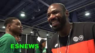What Errol Spence Thinks Of Shawn Porter - EsNews Boxing