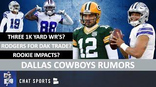 Trade Dak Prescott For Aaron Rodgers? + Cowboys Rumors: Jadeveon Clowney, CeeDee Lamb & Amari Cooper