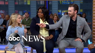Chris Evans, Octavia Spencer and Mckenna Grace open up about 'Gifted'