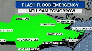 Florence forecast: Tropical storm moves into South Carolina