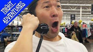 Singing BTS MIC DROP on WalMart LOUDSPEAKER!! (TRUTH OR DARE)