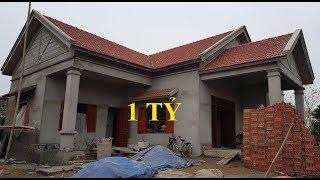 Thăm Quan Thực Tế Mẫu Nhà Cấp 4 Đẹp - 1 tỷ đồng - Diện tích 13.9x15m Tại Ninh Bình