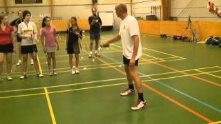 Badminton defence, basics