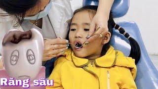 Stin Dâu - Dâu đi Bác Sĩ Nha Khoa (^_^) Nhổ răng có đáng sợ không ?