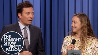 """Jimmy Has Audience Member Read Trump's """"Wouldn't"""" Statement - Monologue"""