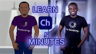 How to create cartoon animations in 5min | Adobe Character Animator | Zero to Hero