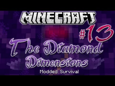 """RANA KILLED ME!""   Diamond Dimensions Modded Survival #13   Minecraft - Smashpipe Games"
