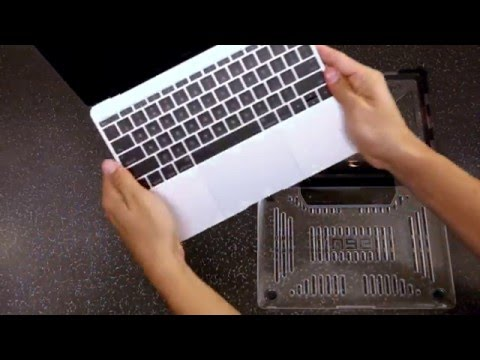 UAG MacBook Case - Installation & Removal Instructions
