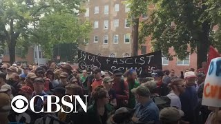 FBI arrests three suspected white supremacists ahead of gun rights rally in Virginia