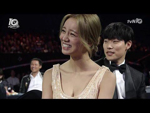 택이 정환이 덕선이, 개그 축하 무대 이세영 혜리 류준열 Hyeri @tvN10 Awards Girl's Day 걸스데이 161009