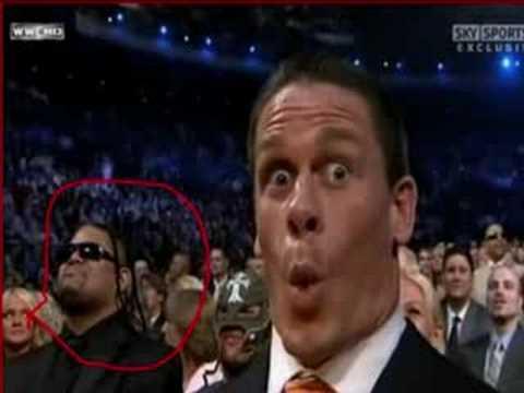 Umaga (R.I.P) At 2008 WWE Hall Of Fame
