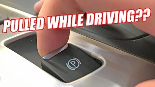 What Happens If You Pull An Electronic Parking Brake While Driving?