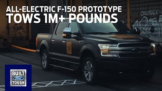 All-Electric F-150 Prototype: Tows 1M+ Pounds   F-150   Ford