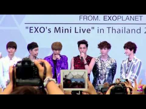 [HD/ENG] 120728 EXO's Mini Live in Thailand [Part 2-2]