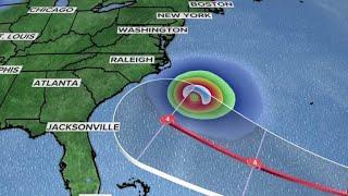 Florence may strike U.S. as major hurricane