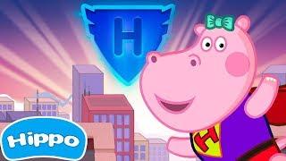 Hippo 🌼 Crianças Superheroes gratuitos 🌼 Jogo de desenhos animados para crianças