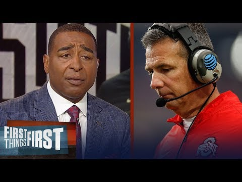 Cris Carter reacts to Urban Meyer retiring from Ohio State | CFB | FIRST THINGS FIRST